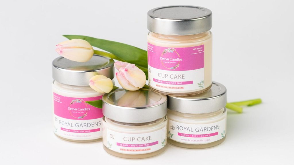 Spring edition of Deeva Candles