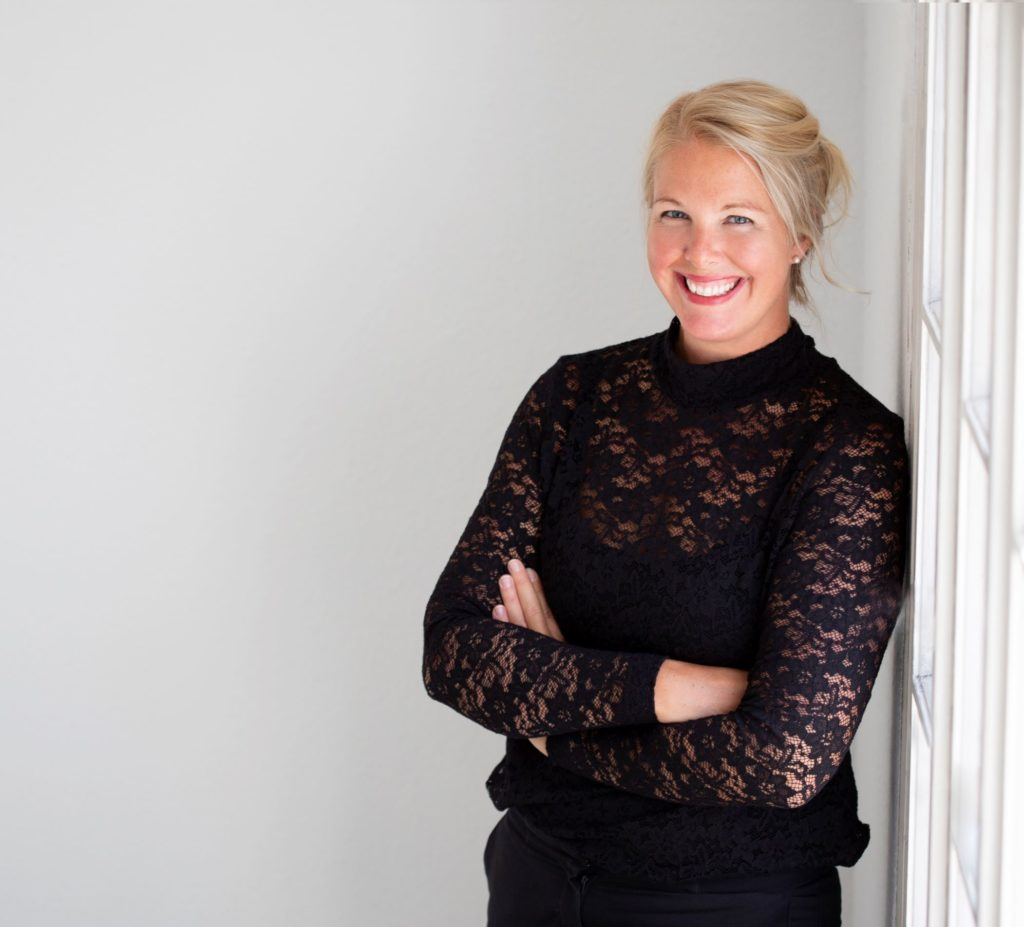 Kirsty Kaspers is the founder of eco inner living