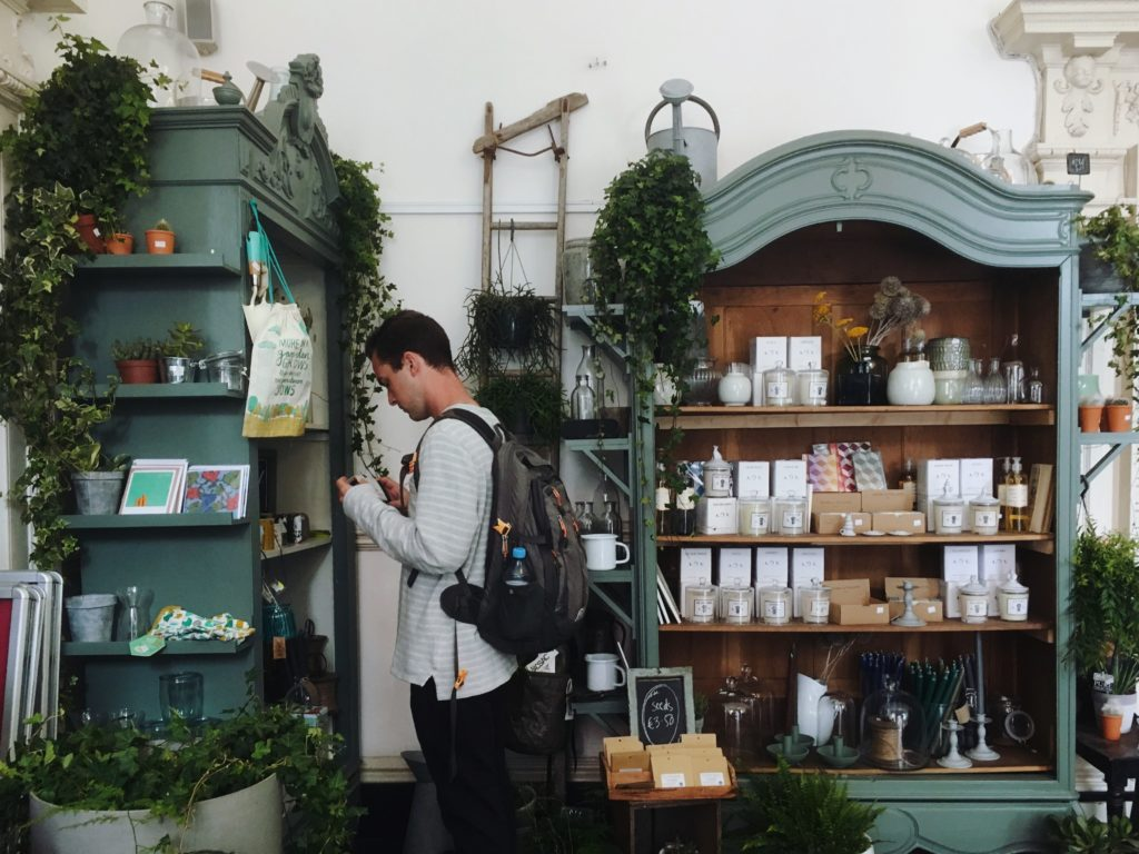A store with sustainable products