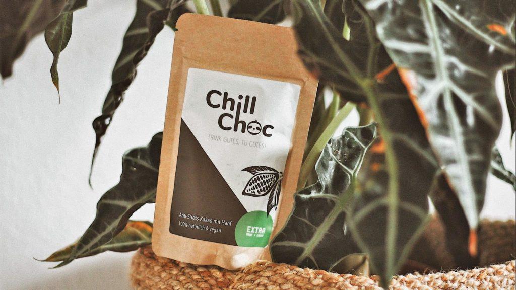 ChillChoc in a plant