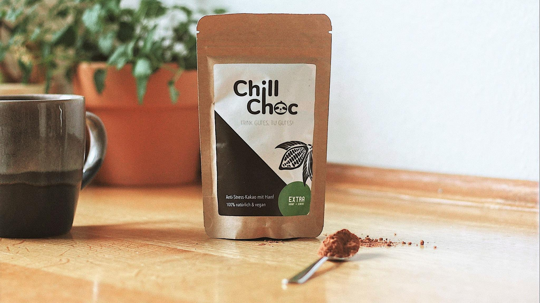 ChillChoc on a table