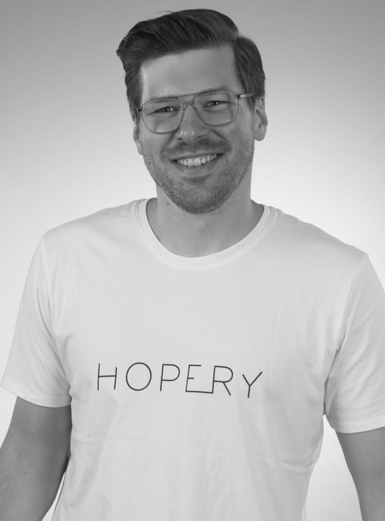 Founder Benjamin Boehme from Hopery