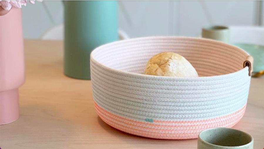 KOBA handmade bread basket
