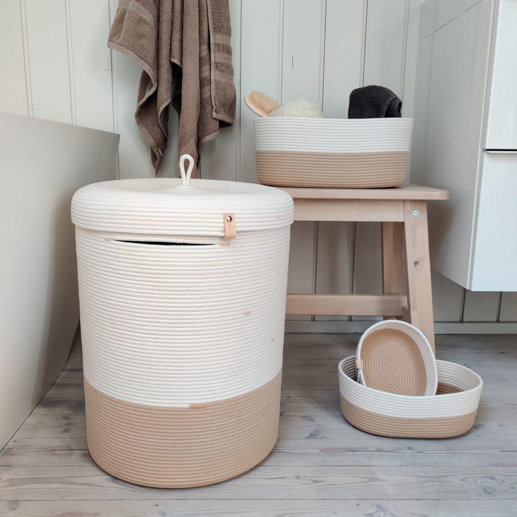 A big basket from KOBA handmade